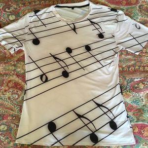 Other - Anime 3d print t-shirt Men Women Music Notes